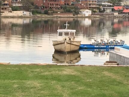 FREE SHARES. TIMBER BOAT EX TRAWLER WITH PRIVATE MOORING  Kogarah Bay Kogarah Area Preview