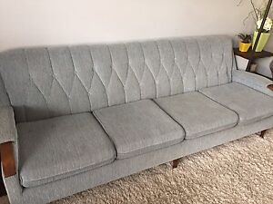 Vintage Couch and Chair Set