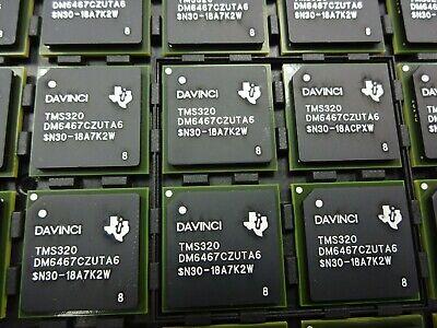 Texas Instruments Tms320dm6467czuta6 Digital Media System-on-chip Tms320dm6467c
