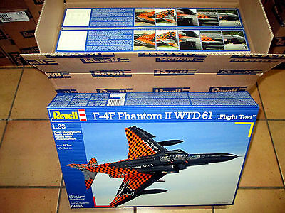 1/32 Plastikbausatz-Konvolut 3 X F-4F Phantom II WTD 61 REVELL 04895 OVP !