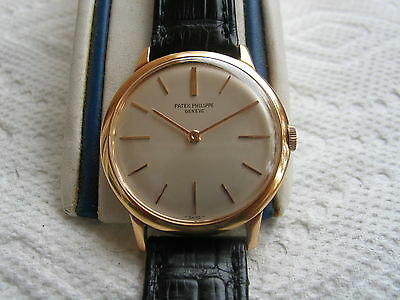 MEN'S 50'S PATEK PHILIPPE,REF 2593,18K ROSE GOLD,32 MM,18J,ADJUSTED FOR 8 POS.