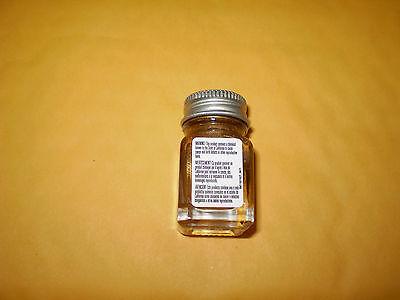 TESTORS 1144 GOLD METALLIC 1/4 OZ JAR PAINT NEW