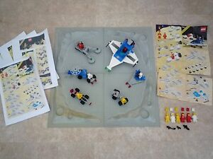 LEGO Space Collection, Cosmic Cruiser 6890, 6823, 6844, 6803, 6841, 6826 - 1980s