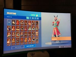 Stacked fornite account! Over 95 skins+ With save the world!