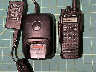 Motorola Xpr6550 Uhf Mototrbo Dmr Portable Radio Aah55qdh9la1an With Charger