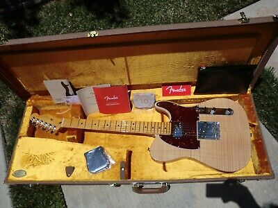 2019 Fender Rarities Chambered Telecaster Flame Maple Top w/OHSC - MINT!