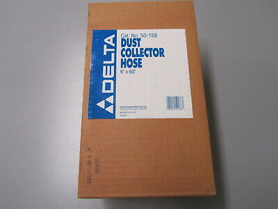 Delta Dust Collector 6dia X 60l Hose 50-188 For 50-850 Collector More Nos