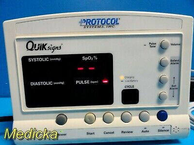 Welch Allyn 52000 Series Quick Signs Monitor W Printer 15432