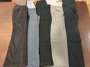5 pairs of maternity dress pants (size S)