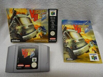 Vigilante 8 2nd Offence - N64 Game - Boxed + Instructions - UK Pal