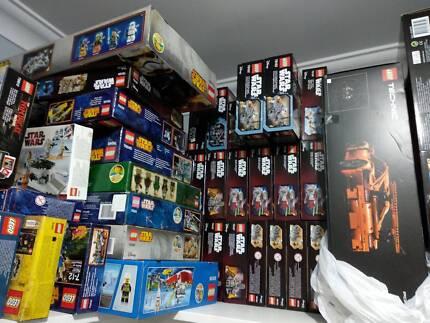 lego bnib sets 82 in one go $6k