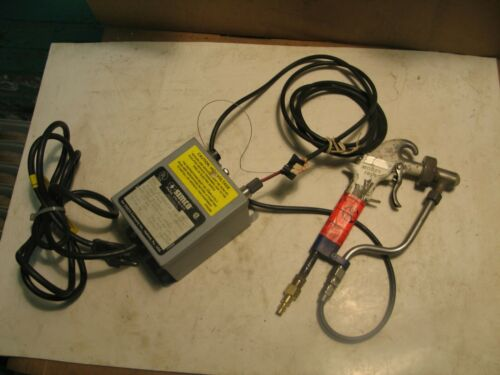 SIMCO F167 POWER SUPPLY / TESTONE MODEL 190 HD ESD STATIC DISSIPATION GUN P4574