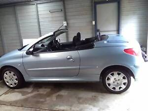 2006 Peugeot 206 Convertible Belmont Lake Macquarie Area Preview