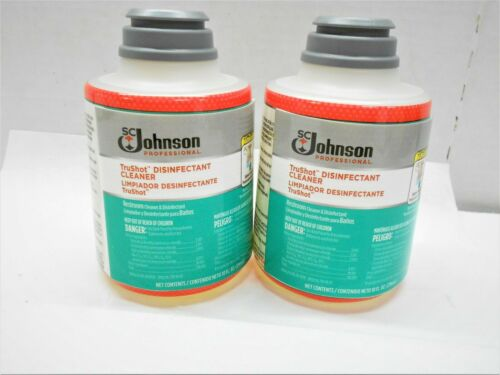 SC Johnson TruShot Restroom Disinfectant Cleaner 10 oz 25700 Brand New-Lot of 5