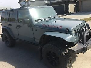2014 Custom Jeep Wrangler Saharacon Unlimited