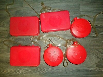 vintage Kool Aid canteen and lunchbox lot