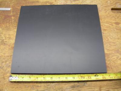 Black Abs Machinable Plastic Sheet 516 X 12 X 12 Matt Finish