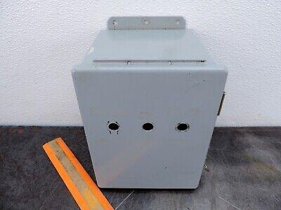 Hoffman Enclosure A-8066ch  Electrical Electric Box 8x6x6 24226-001