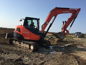 For sale : 2016 Kubota Excavator