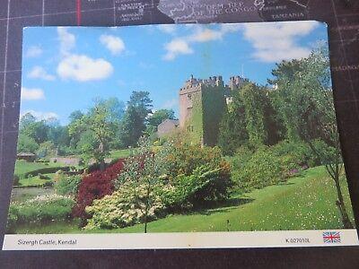 Postcard. Sizergh Castle, Kendal, Cumbria. 1980/90s