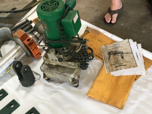 "Greenlee 881 Rigid/EMT Hydraulic Bender 2-1/2"", 3"", 3-1/2"" and 4"" NO TABLE"