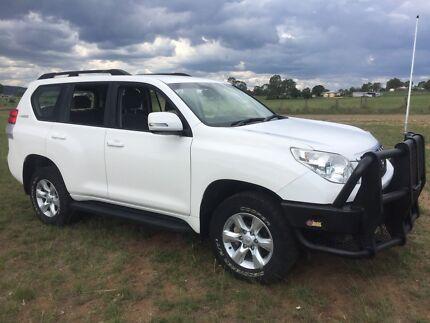 Toyota landcruiser prado gxl turbo diesel