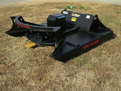 72 Pro Works Severe Duty Skid Steer Brush Cutter With Carbide Mulching Option