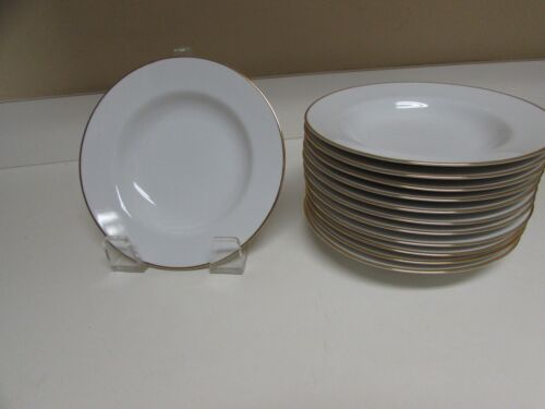 12 White Pier 1  Soup Plates  9 1/8 Inch Diameter Mint PICKUP Brooklyn Heights