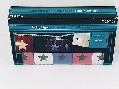 Allen and Roth Metal String Lights. Perfect for Summer BBQ on the Deck. New.  ()