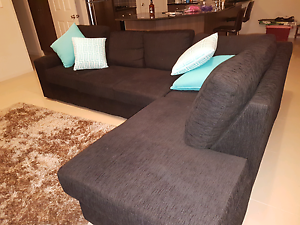 Black Chaise lounge for sale Munno Para Playford Area Preview