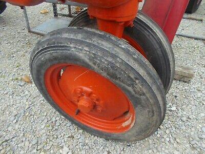 Allis Chalmers B C Tractor Ac Rims 4.00 X 15 Firestone Gide Grip Front Tires K