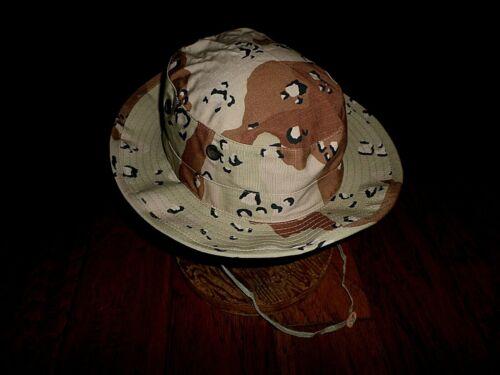 Military Issue Desert Boonie Hat Type II Sun Hot Weather Gulf War USA Made