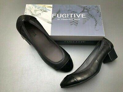 Chaussures noires et argent Fugitive by Francesco Rossi neuves - Pointure 41 (A)