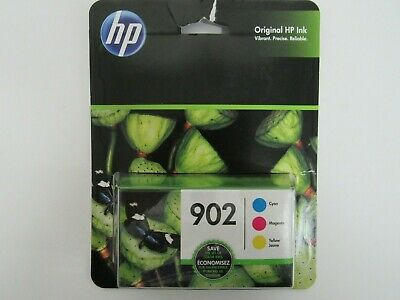 HP 902 Tri-Color Cyan Magenta Yellow Ink Cartridges 3-Pack SEALED EXPIRED 12/19 3 Pack Magenta Ink