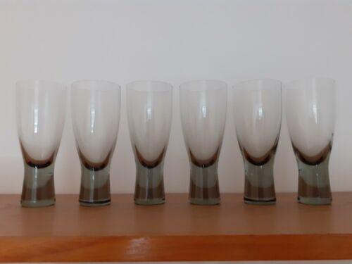 Vintage Holmegaard Canada Wine Glasses x 6 Per Lutken Denmark