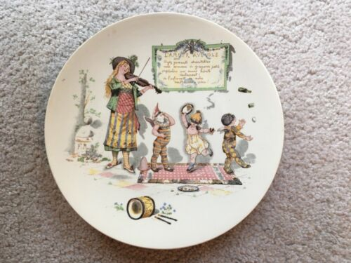 French Children's Decorative Plate