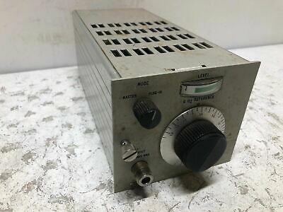 Vintage Beckman 609 Heterodyne Converter Test Equipment Ham Radio Very Rare