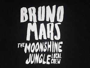 Bruno-Mars-Local-Crew-T-shirt-limited-ed-Brand-New-Never-Worn