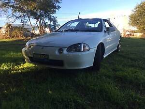 1992 Honda CRX Coupe Yeerongpilly Brisbane South West Preview