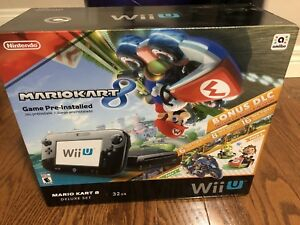 Nintendo Wii U with 5 Games