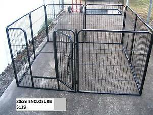BRAND NEW Pet Dog Exercise Encl Fence Play Pen Run-80cmx8 PANEL Kingston Logan Area Preview