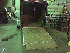 6x12 Pace enclosed trailer with heavy duty ramp