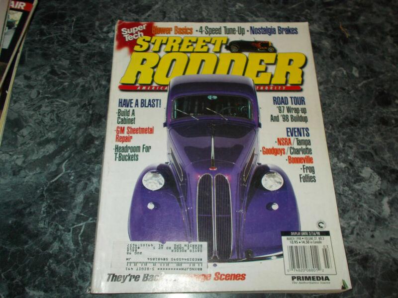 Street Rodder Magazine March 1998 Sheetmetal Repair
