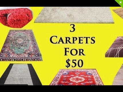 Quality Rugs 3 for $50