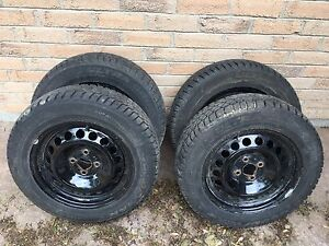 185/65/15 snow tires with rims