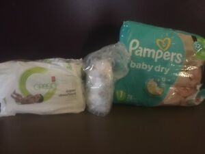 Size 1 (8-14lbs) diapers (about 130 diapers total)