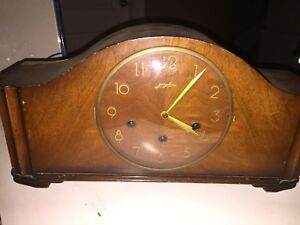 Antique Junghans Westminster Chimes Mantel Clock