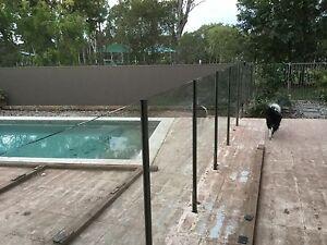 Semi frameless glass pool fence Robina Gold Coast South Preview