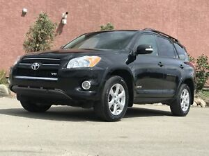 2010 Toyota RAV4 V6 Limited Loaded 4x4 Remote Start Limited V6 4