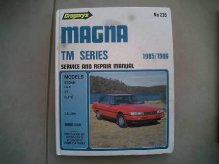 Mitsubishi Magna******1986 TM series Gregory's repair manual